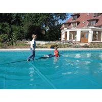 鹏睿仕自动泳池覆盖系统 泳池安全防护工程 保温盖膜 品牌推荐