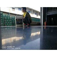 博罗金刚砂硬化施工—耐磨地面起灰怎么办—博罗厂房地面抛光处理