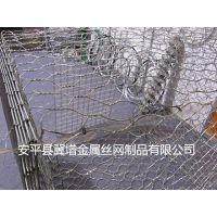 锌铝合金石笼网箱10%锌铝格宾网石笼网挡土墙