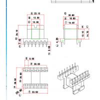 EE13变压器骨架 直插 卧式6+6 有配套磁芯销售