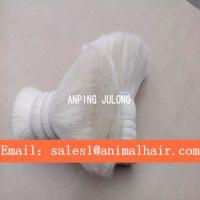 厂家直销柔软性好的双齐山羊毛羊尾毛制刷羊毛