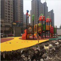 厂家直销 EPDM橡胶颗粒 塑胶地板篮球场网球场 彩色学校操场