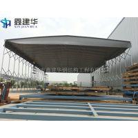 天津市静海县定做工厂物流移动帐篷、东丽区鑫建华伸缩活动雨棚布、遮雨棚厂家