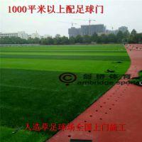 建设一个7人制足球场需要多少钱 人造草足球场施工怎么结算的 足球场人造草坪有几种材质