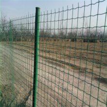 绿色护栏网 低碳钢丝围栏 高速公路隔离栅
