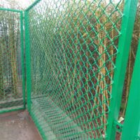 4米高运动场围网 优质勾花网