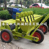 多行汽油大蒜点播机 金乡大蒜种植机械设备