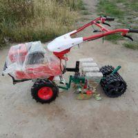 拖拉机带动小麦高粱播种机 娃娃菜播种机 启航宿迁拖拉机带谷子精播机