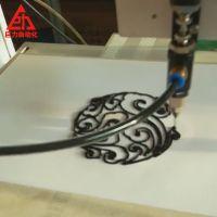 自动喷射阀点胶机 衣服自动点胶机可画花朵图案带治具 厂家定制款