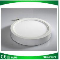 LED超薄面板灯 6w明装圆形筒灯 明装小面板 天花板灯 射灯