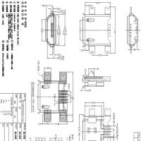MICRO 沉板贴片式母座B型 沉板1.6MM四脚全贴SMT卷边 雾锡
