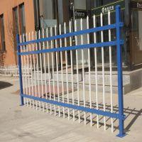 锌钢栅栏围墙栏杆组装式小区栅栏学校围栏工业区护栏美观大方胜威隔离栏