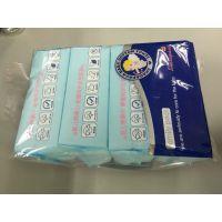 广东婴儿棉柔巾代工厂家 100%天然棉干巾oem 100片干湿两用网眼洁面巾