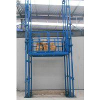 坦诺机械加工定做七台河市导轨式升降机 液压升降货梯 厂家直销
