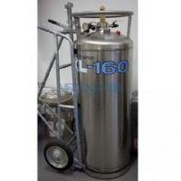 长期出售水产运输用175L-1.4MPA液氧杜瓦罐 低温绝热气瓶 激光切割机用气瓶