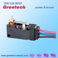 ZING EAR 16A密封型IP67防水防尘 家电汽车 微动开关认证欧姆龙ULCULENEC