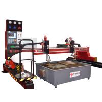 龙门数控切割机HNC-4000H经济型数控火焰切割机装置任何型号的等离子切割系统使用在4米跨距切割中