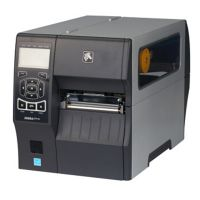 Zebra ZT410热转印工业条码打印机,4英寸打印宽度