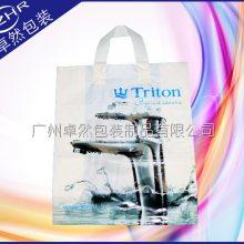 吊带塑料袋PE/PO服装日用品胶袋 免费设计logo厨具卫浴购物礼品袋