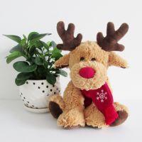厂家直销毛绒玩具麋鹿圣诞鹿圣诞节玩具礼品批发一件代发