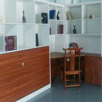 定制小户型书房书柜卧室一体化多功能组合家具