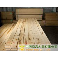 尚高木业供应俄松软木实木板材松木方木烘干KD巴西松木板材美国南方松毛板