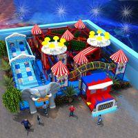 pvc 淘气堡 儿童乐园设备 室内外儿童游乐设施 碰碰车