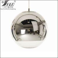 现代个性创意圆形吊灯餐厅灯吧台灯具咖啡厅服装店玻璃球形灯具
