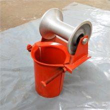 布线 尼龙 钢材滑轮 通讯线布线滑轮 洪鑫电力工具