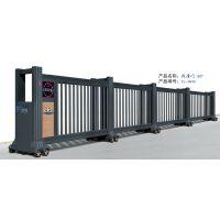 南昌明和专业厂家 不锈钢电动伸缩门 伸缩门平移门 荣高品牌