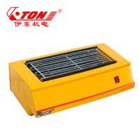 伊东厂家 KD2环保电热电烤炉 不粘烤串烤羊肉机烤生蚝 室内环保电烤架子