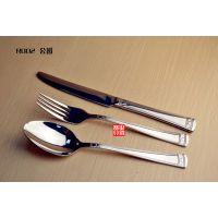 意大利 Ricci 百年经典设计精髓 奢华点缀手柄 厚实刀叉勺