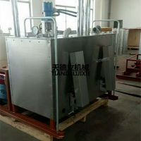 天德立 HX-1200液压双缸热熔釜 柴油动力热熔釜