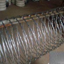 刺绳刀片 镀锌刀片刺绳厂家 刺丝防护网