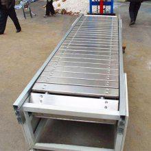 都用-块煤装卸链板输送机 挡板式链板输送机