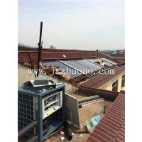 溧阳南山竹海农家乐太阳能加5匹奥栋空气能热水工程