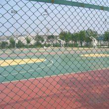 运动厂护栏网 球场防护网 勾花网围栏