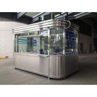 厂家低价 欧式不锈钢岗亭 门卫亭 上海市区免费送货