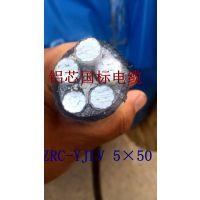 额定电压1KV, ZRC-YJLV 5×50 交联聚乙烯绝缘聚氯乙烯护套电力电缆(YJLV)