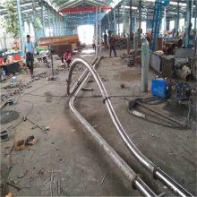 专业链板输送机厂家耐磨 倾斜管链输送机