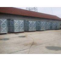 科能Q235钢板热镀锌水箱 出口专用镀锌水箱