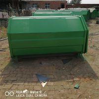 沧州绿美供应钩臂式垃圾箱钩臂式垃圾车配套垃圾箱定做