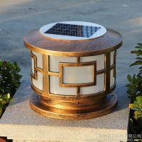 启正科技供应庭院灯led景区花园全自动太阳能灯