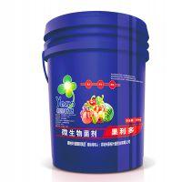 瓜果蔬菜抗病增产微生物菌剂腐殖酸冲施水溶肥