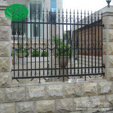 清远庭院草坪护栏直销 云浮铁艺围栏多少钱一米 社区围墙栅栏