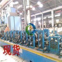 现货二手不锈钢304焊管机半自动制管机方管圆管冷弯焊接生产线