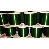 出口彩色DIY饰品烤漆丝圆形绿色包胶铁丝规格图片