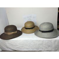 高档草帽遮阳防晒时装帽子