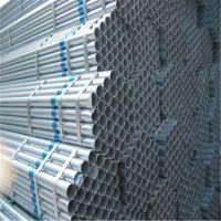 天津华信达供应q235热镀锌大棚管 架子管高质量热镀锌钢管