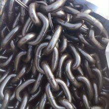 鲁兴定做高强度链条配套索具,40铬锻打强力环,铁圆圈环厂家